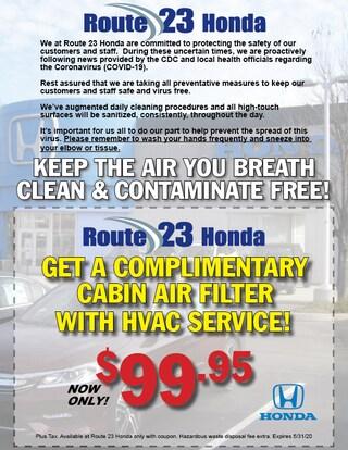 $99.95 HVAC Service