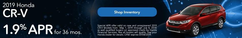 2019 Honda CR-V Offers