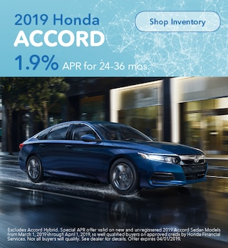 2019 Honda Accord March Offer