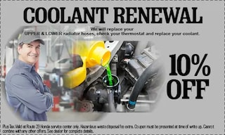 10% Off Coolant Renewal