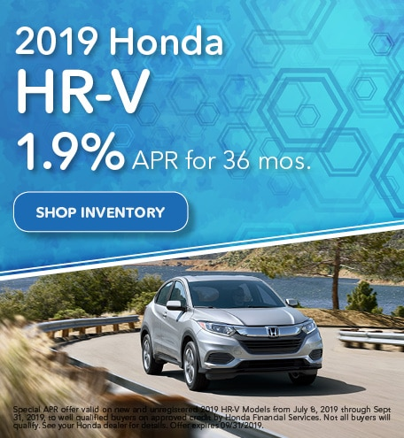 2019 HR-V July Offer