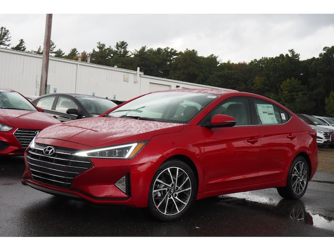 New 2019 Hyundai Elantra Limited Limited  Sedan for sale in Raynham, MA.