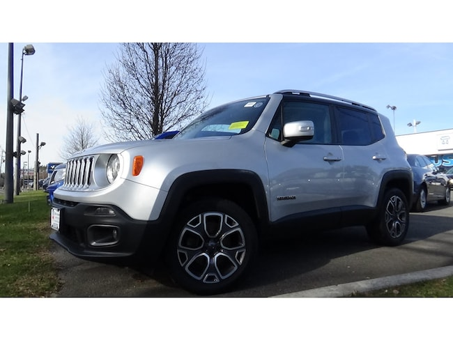 Used 2015 Jeep Renegade Limited SUV for sale in Raynham, MA.