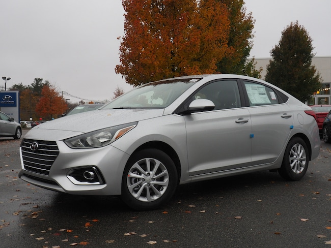 New 2019 Hyundai Accent SEL SEL  Sedan 6A for sale in Raynham, MA.