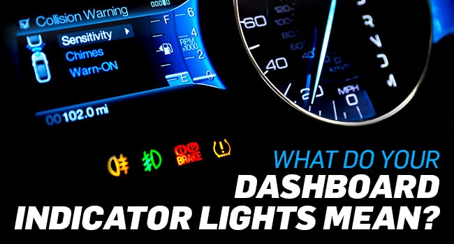 Dashboard Indicator Light Meaning