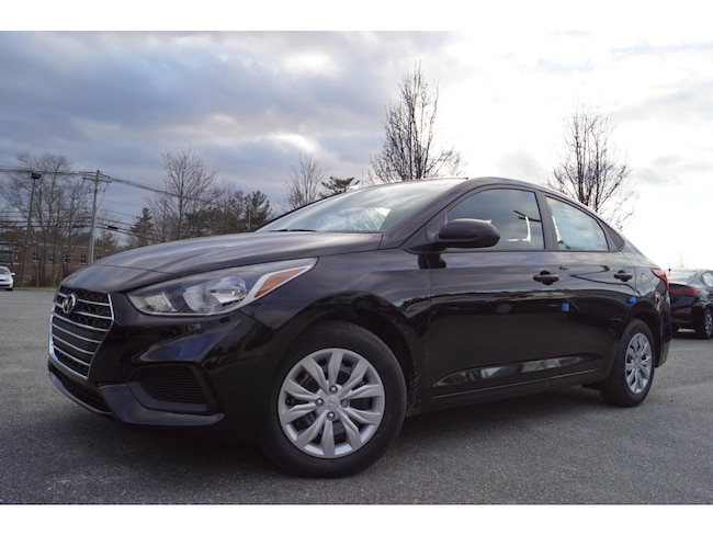 New 2019 Hyundai Accent SE SE  Sedan 6A for sale in Raynham, MA.