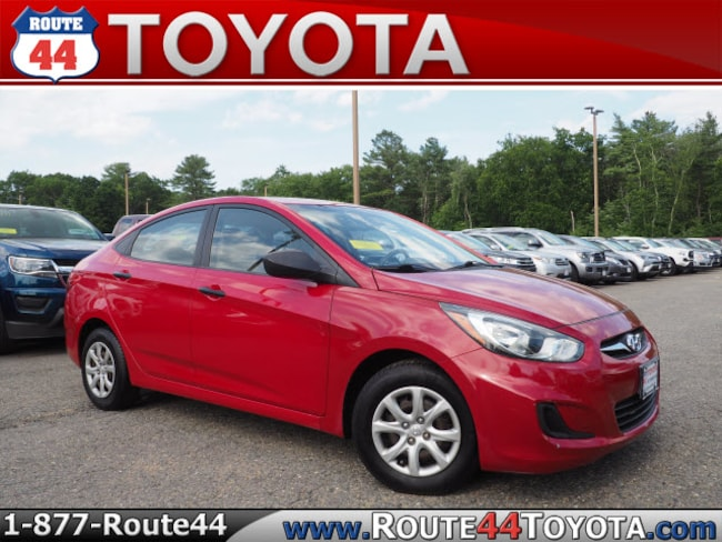 Used 2012 Hyundai Accent GLS Sedan near Attleboro