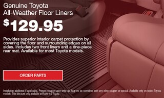 Spring Floor Liners Special