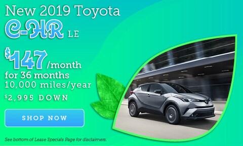 April 2019 C-HR Offer
