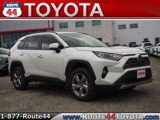 New 2019 Toyota RAV4 Hybrid Limited SUV in Raynham, MA