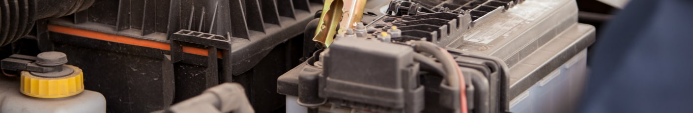 Toyota battery replacement close-up