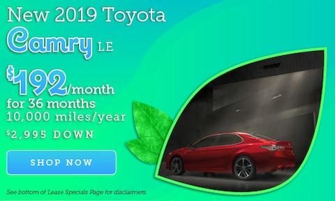 April 2019 Camry Offer