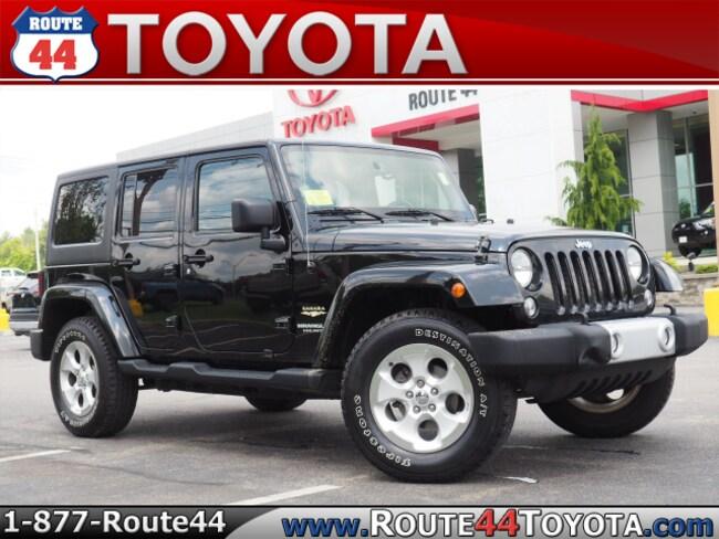 Used 2014 Jeep Wrangler Raynham MA   VIN: 1C4BJWEG8EL223424