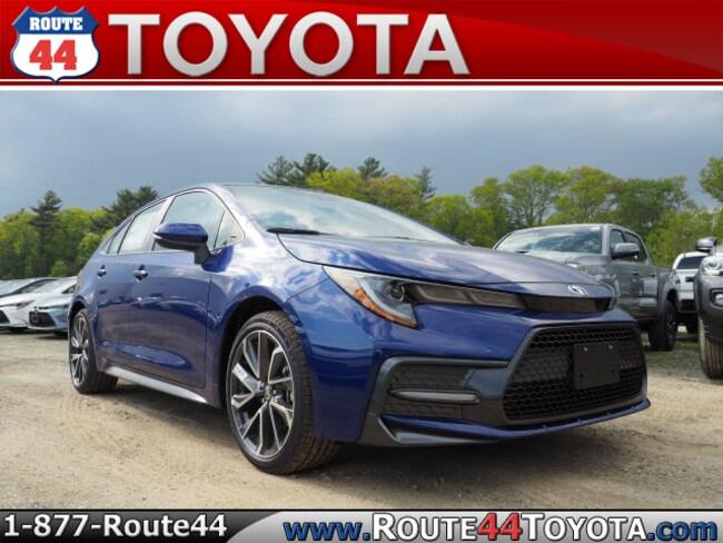 New 2020 Toyota Corolla SE Sedan near Attleboro