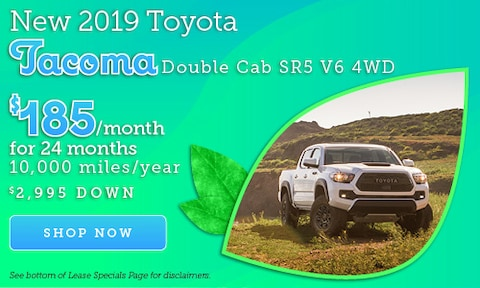 April 2019 Tacoma Offer