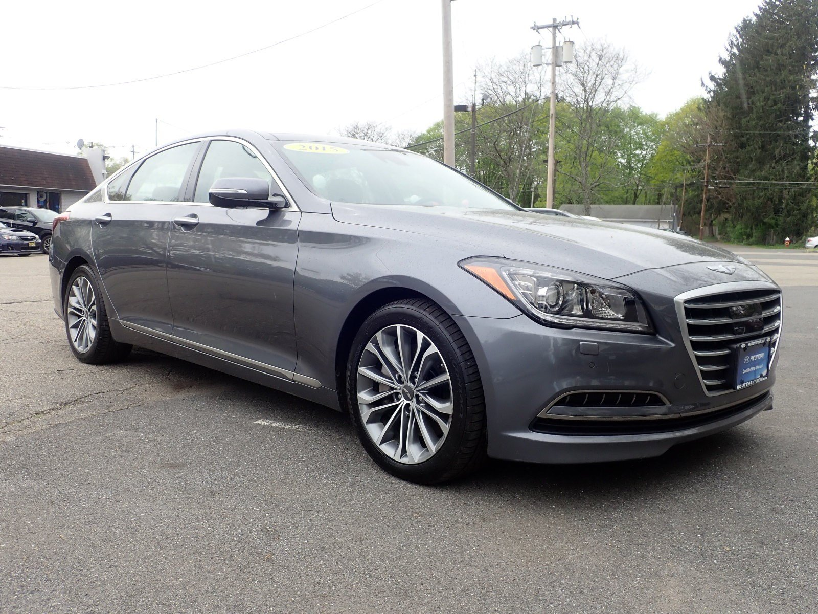 Featured used cars, trucks, and SUVs 2015 Hyundai Genesis 3.8 Sedan for sale near you in Hackettstown, NJ