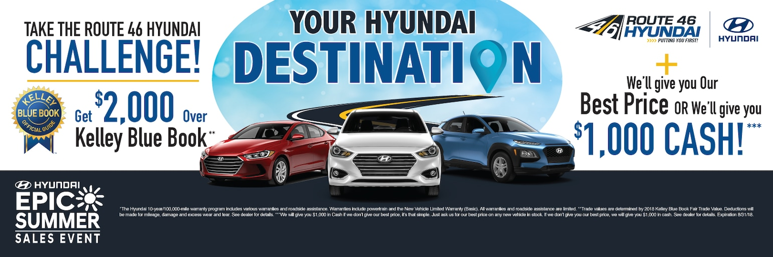 New Hyundai & Used Car Dealer in Hackettstown, NJ