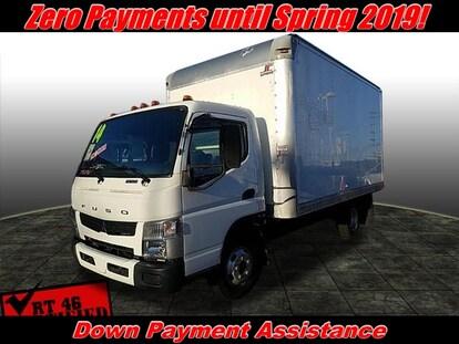used 2014 mitsubishi fuso box truck 14 x 8 box | totowa nj | vin