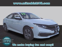 Used 2019 Honda Civic LX Sedan 2HGFC2F69KH519122 in Totowa, NJ