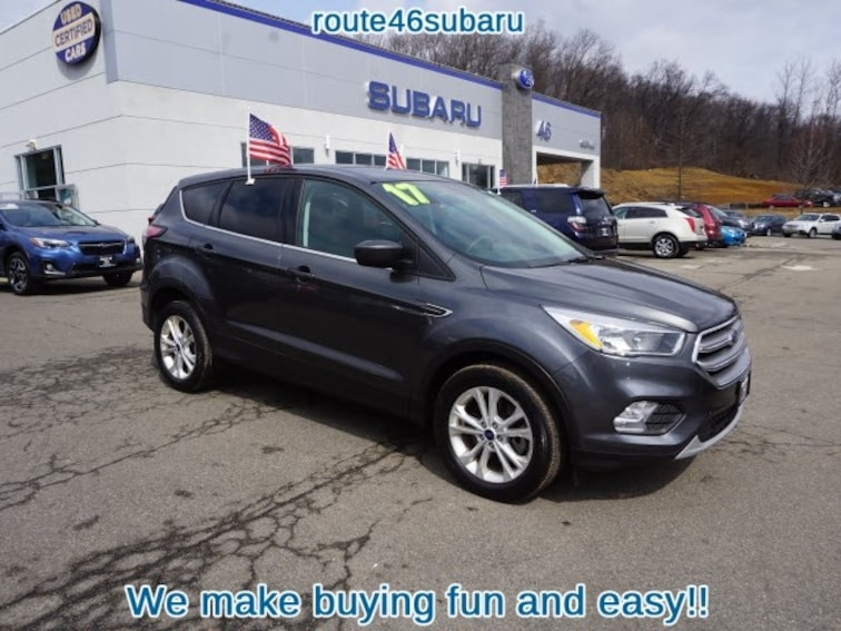 89872e2261 Used 2017 Ford Escape SE AWD SE SUV for sale in Hackettstown