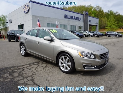 Used 2016 Volvo S60 For Sale at Route 46 Subaru | VIN: YV1612TK3G2399530