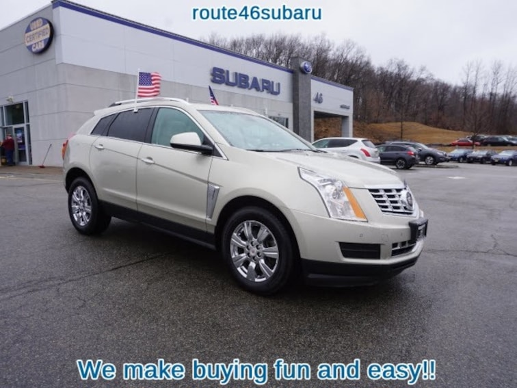 2016 Cadillac Crossover >> Used 2016 Cadillac Srx For Sale At Route 46 Subaru Vin