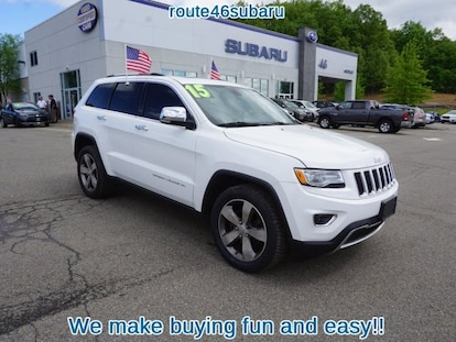 Used 2015 Jeep Grand Cherokee For Sale at Route 46 Subaru