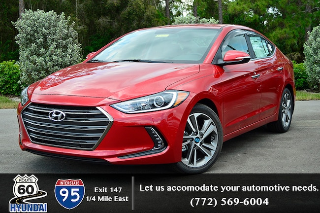 New 2017 Hyundai Elantra Limited Sedan in Vero Beach, FL