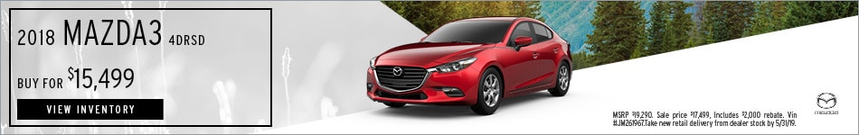 2018 Mazda3 4DRSD