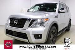 New 2018 Nissan Armada Platinum SUV JN8AY2NE5J9731036 for Sale in Tulsa, OK at Route 66 Nissan