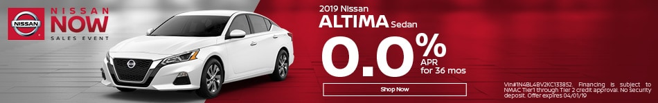 2019 Altima March Offers