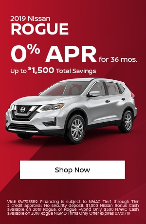 2019 Rogue June Offer