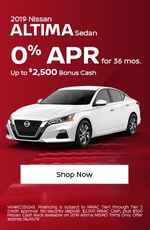 2019 Altima July Offer