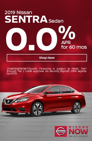 2019 Sentra March Offer