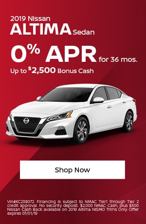 2019 Altima June Offer