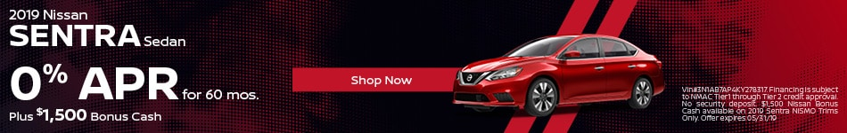 2019 Nissan Sentra May Offers