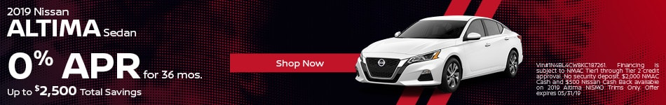 2019 Nissan Altima May Offers