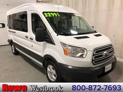 Used 2018 Ford Transit-350 XLT 12 Passenger Medium Roof 12 Passenger Van For Sale in Westbrook, ME