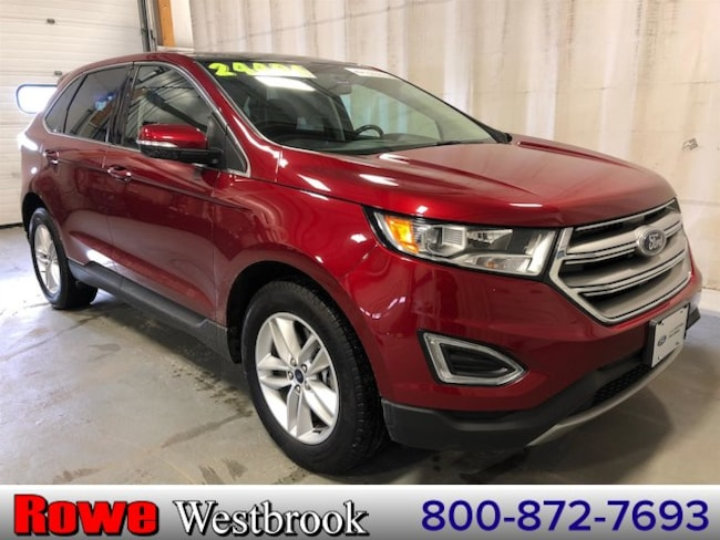 2015 Ford Edge SEL 201a Moonroof/Navigation/Leather SUV