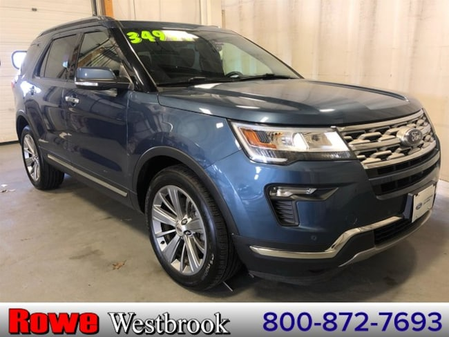 2018 Ford Explorer Limited Moonroof/ Navigation SUV For Sale in Westbrook, ME