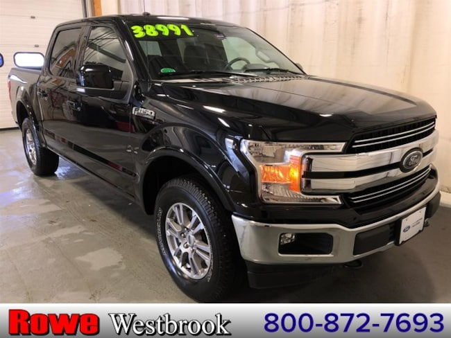 2018 Ford F-150 Lariat Truck For Sale in Westbrook, ME