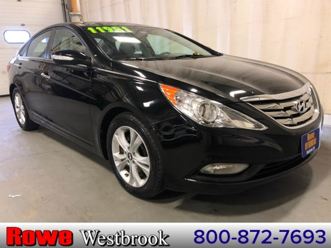 2013 Hyundai Sonata Limited Panoramic Roof/Navigation Sedan