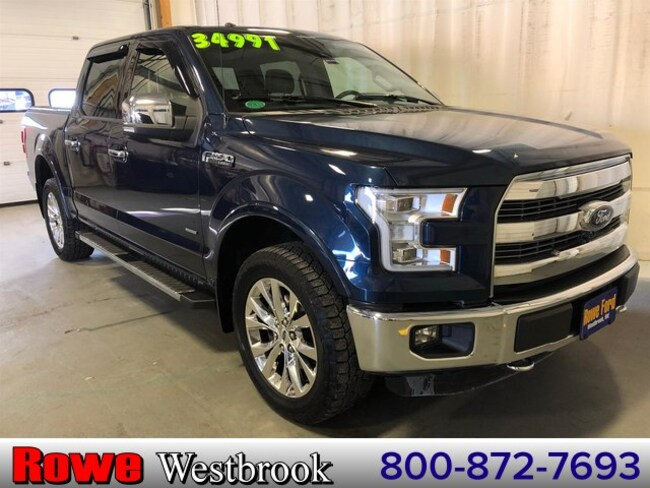 2015 Ford F-150 Lariat 502a Fx4 Twin Panel Moonroof Truck