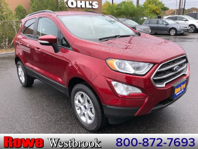 2018 Ford EcoSport SE Crossover For Sale in Westbrook, ME