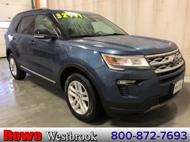 2018 Ford Explorer XLT Twin Panel Moonroof SUV