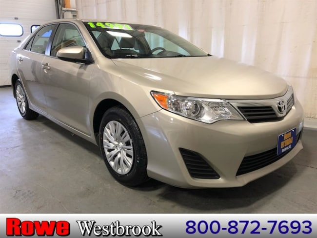 2014 Toyota Camry L Local Low Mileage Trade In! Sedan For Sale in Westbrook, ME