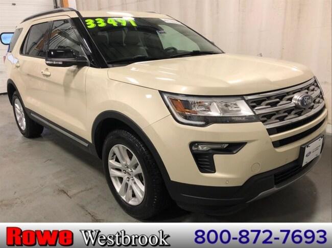 2018 Ford Explorer XLT Moonroof/202a/Safe And Smart Pkg SUV