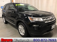 Used 2018 Ford Explorer XLT 202a And Smart And Safe Packages! SUV For Sale in Westbrook, ME