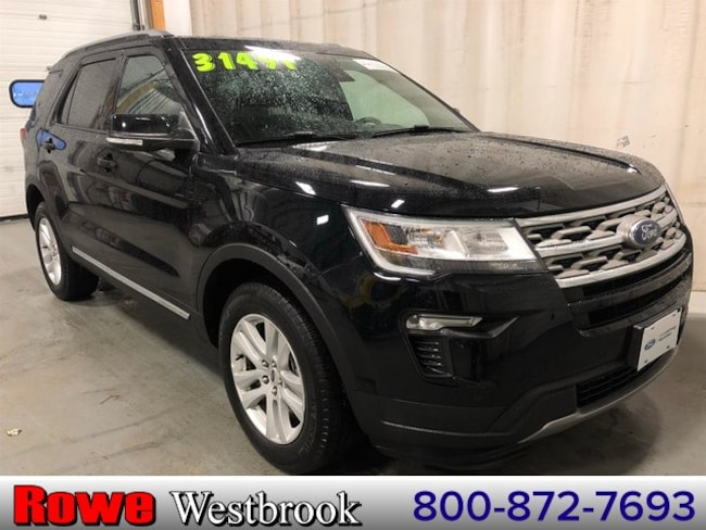2018 Ford Explorer XLT 202a And Smart And Safe Packages! SUV