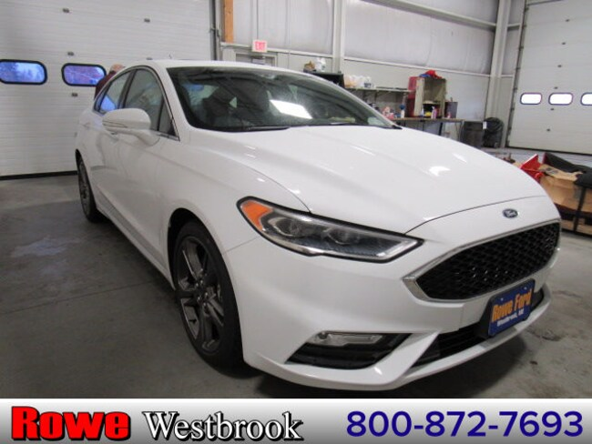 2017 Ford Fusion Sport Sedan For Sale in Westbrook, ME